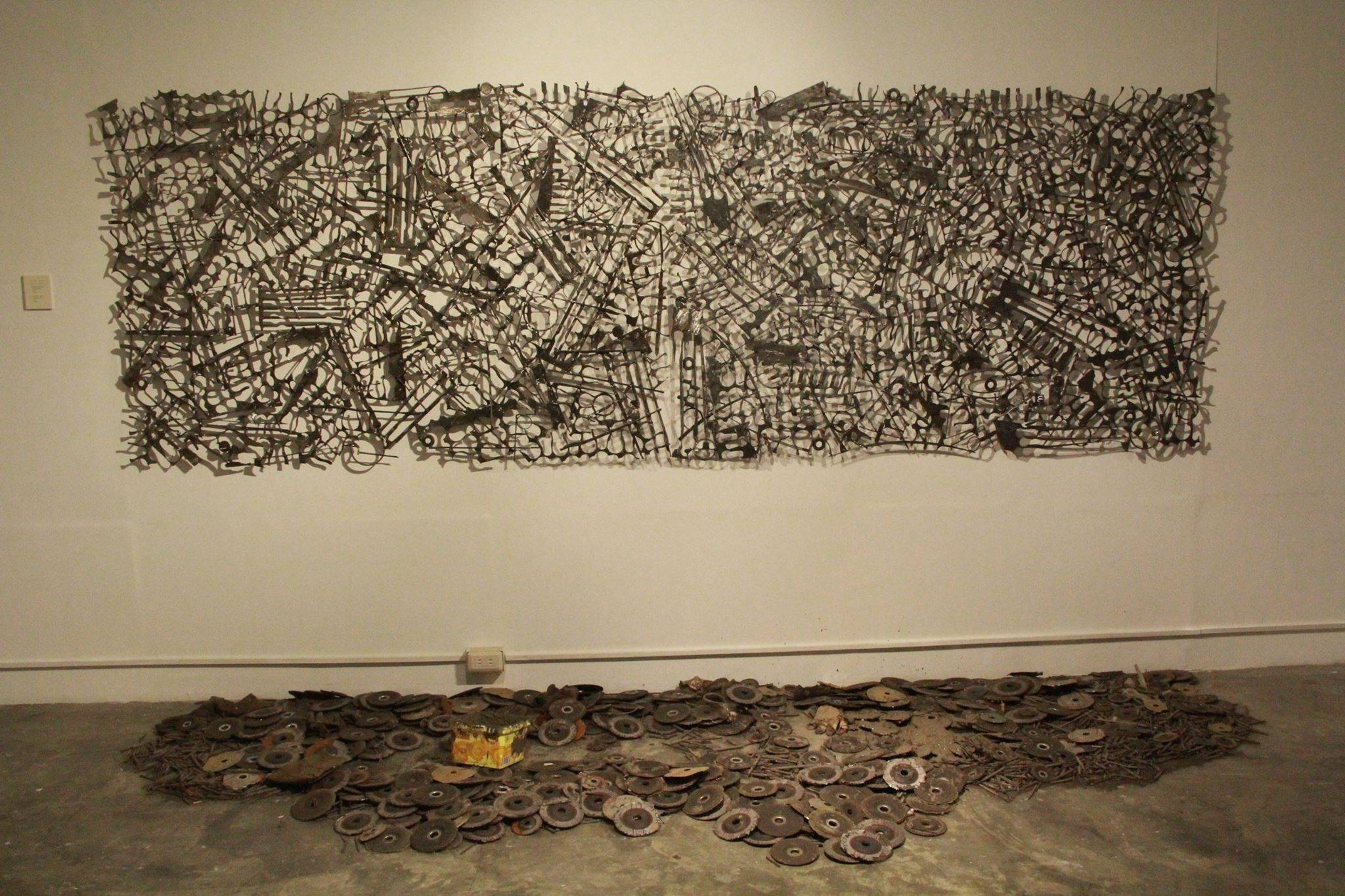 Sam Penaso: Multifaceted Sculptor, Visual & Performance Artist Intended For Most Current Filipino Wall Art (View 3 of 30)