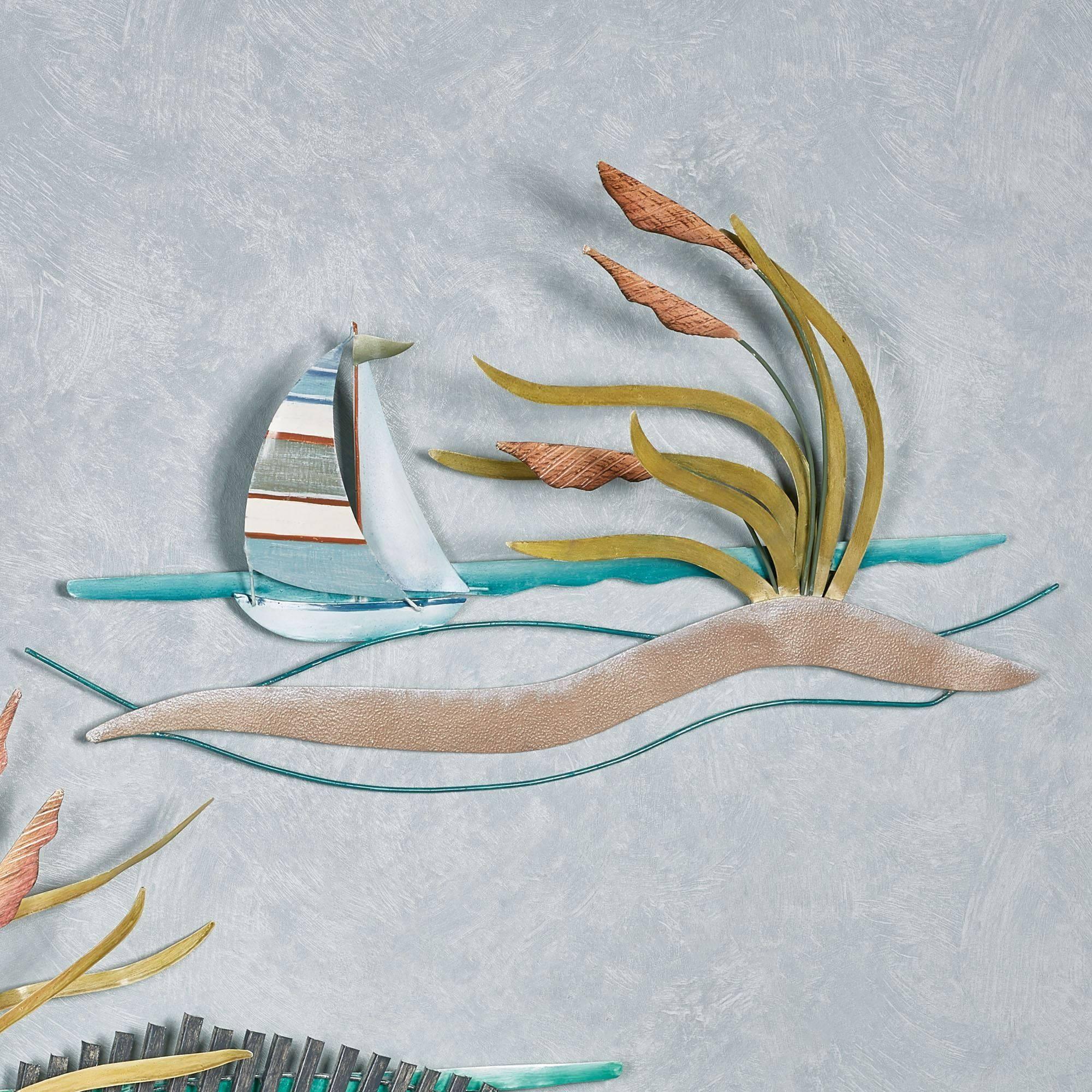 Sand Dunes Indoor Outdoor Metal Wall Art For Most Popular Sailboat Metal Wall Art (Gallery 23 of 30)