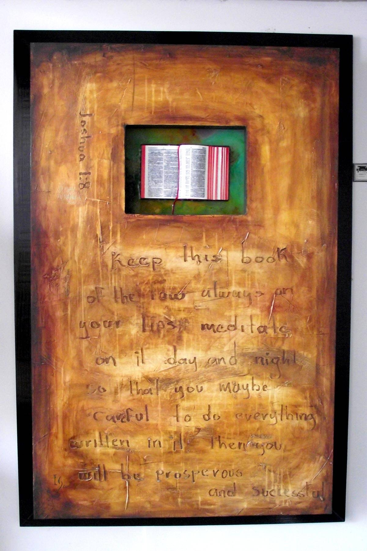 Scripture Bible Verses Paintings – Ivan Guaderrama |Official Site With Regard To Newest Bible Verses Framed Art (View 22 of 25)