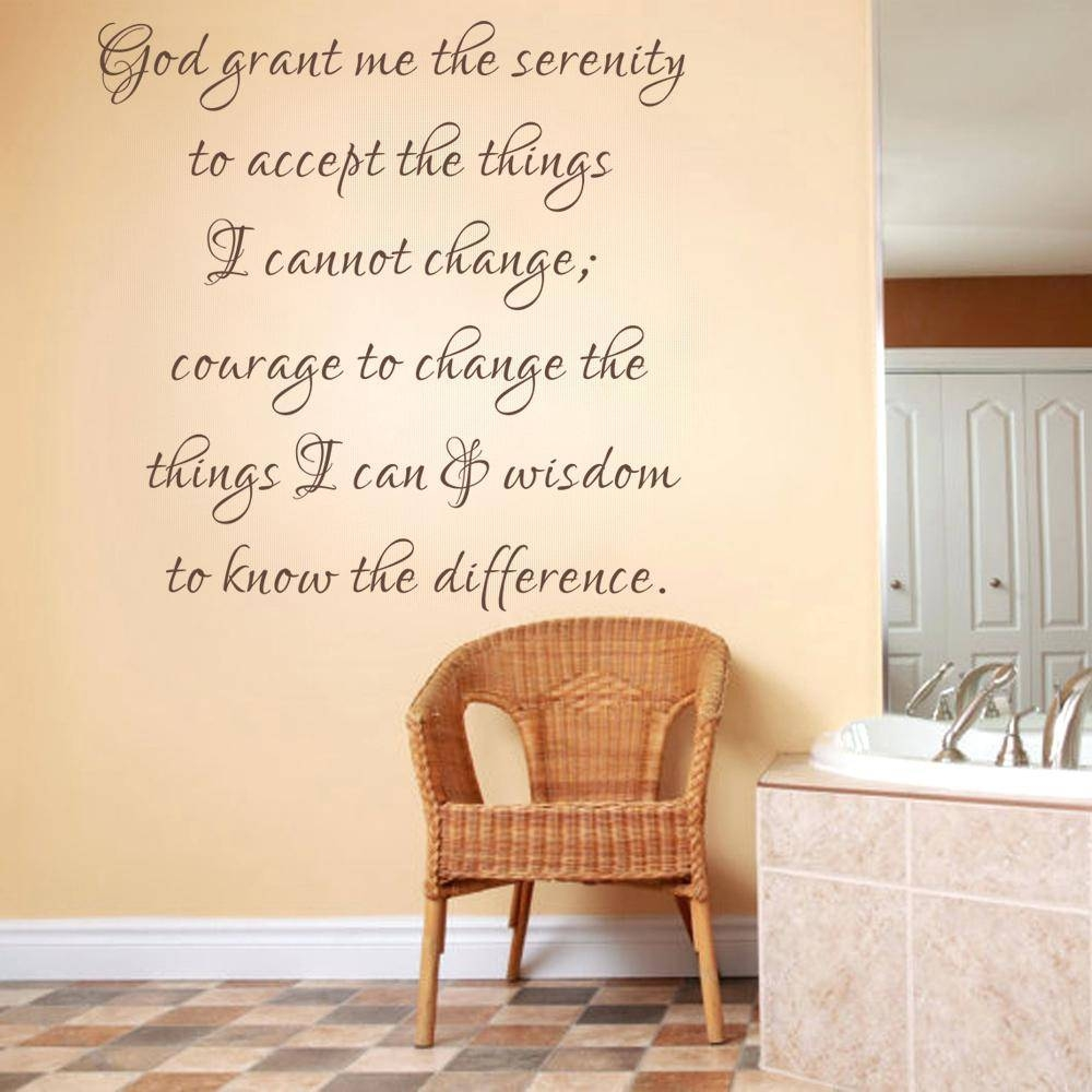 Scripture Decals For The Walls Psalm Wall Decal Bible Verse Decal Throughout Most Recent Nursery Bible Verses Wall Decals (View 16 of 25)