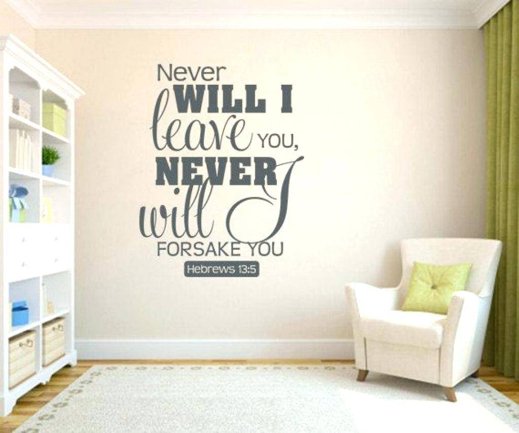 Scripture Decals For The Walls Wall Art Ideas Design Sleep In For Most Popular Bible Verses Wall Art (Gallery 19 of 30)