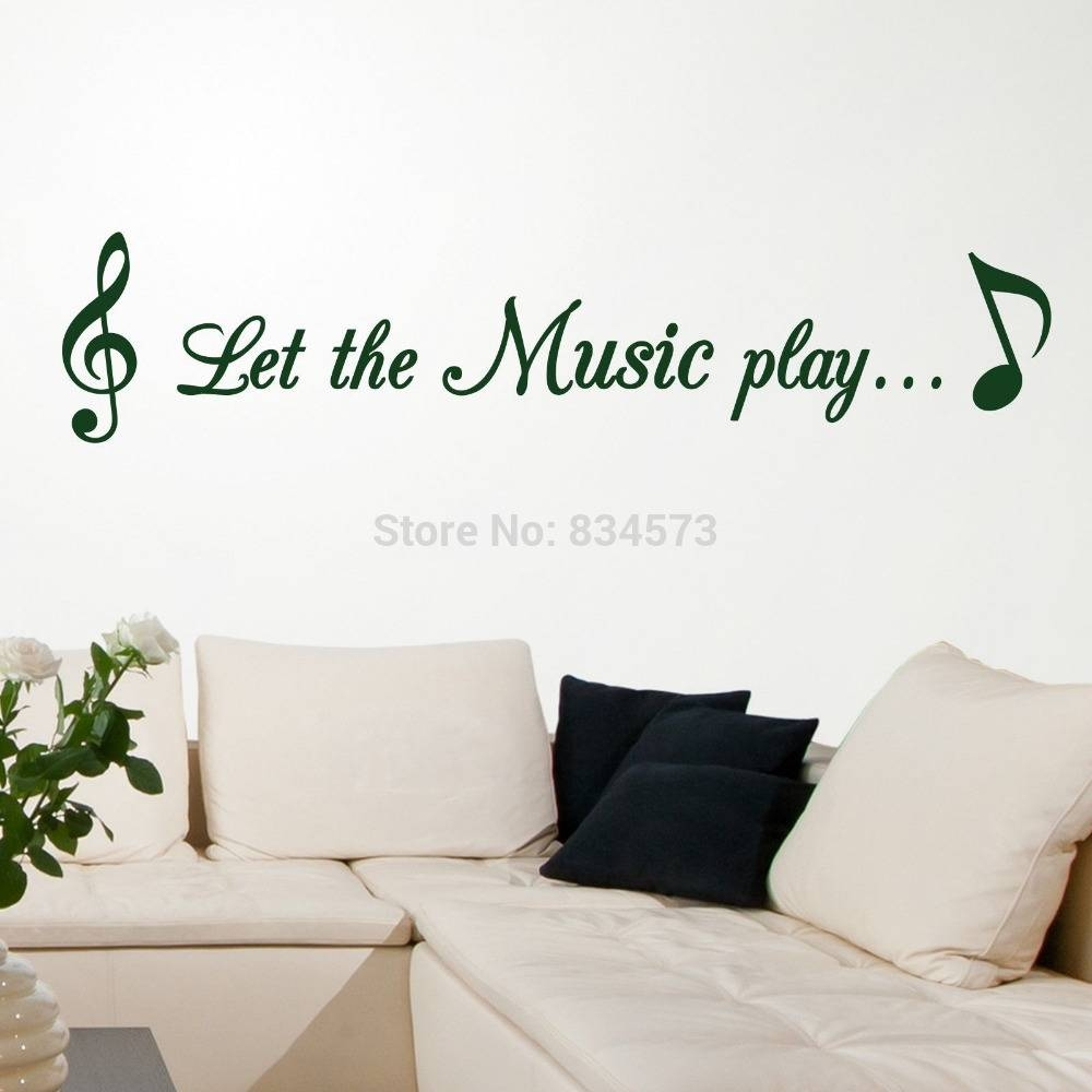 Search On Aliexpressimage Pertaining To Most Current Music Note Wall Art Decor (View 14 of 20)