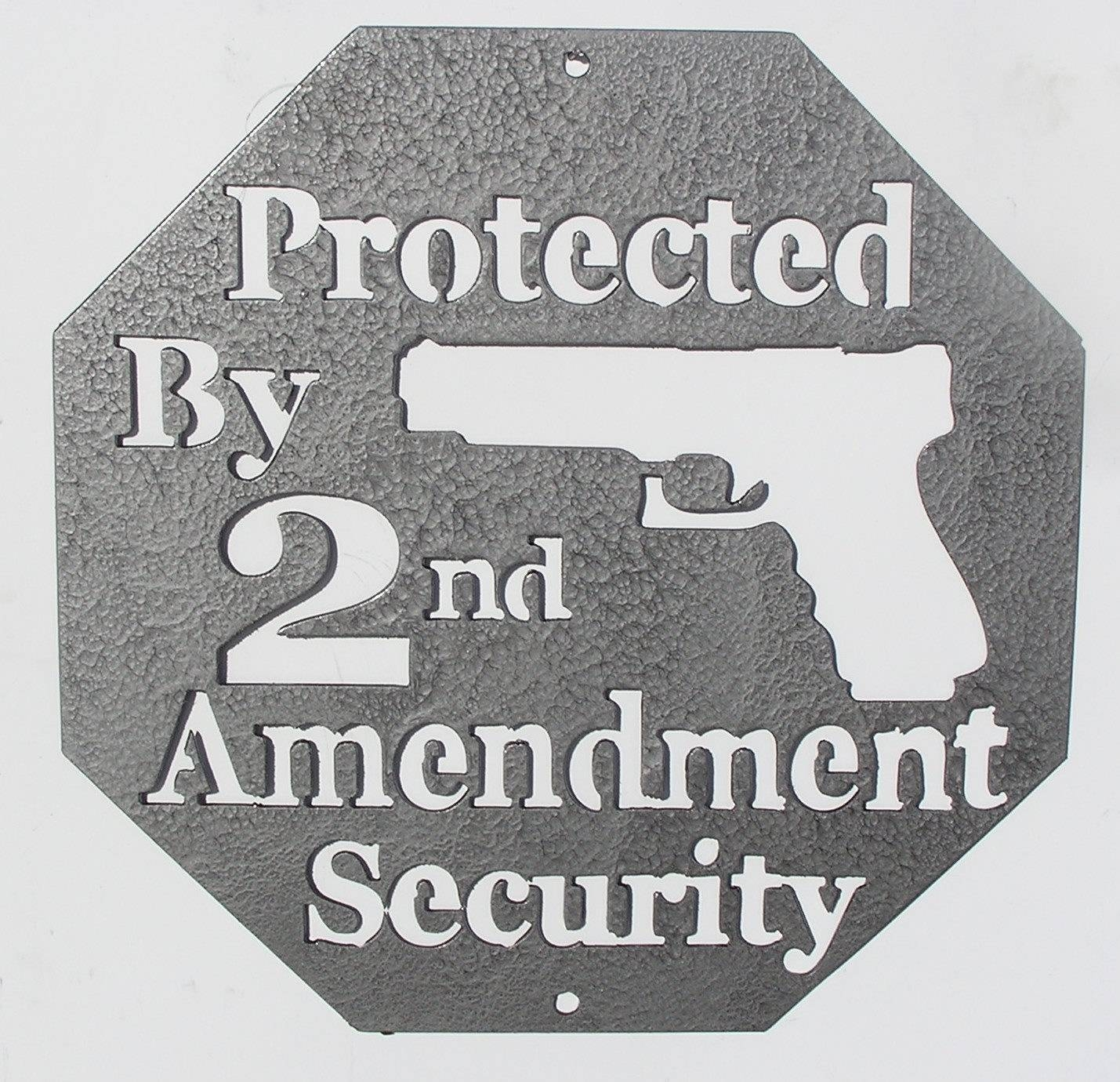 Second Amendment Metal Wall Art – Country Wonders Within Current Country Metal Wall Art (View 20 of 30)