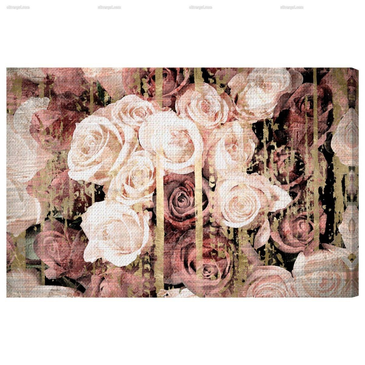 Shabby Chic Romance — Oliver Gal Throughout Most Recently Released Shabby Chic Canvas Wall Art (View 4 of 25)