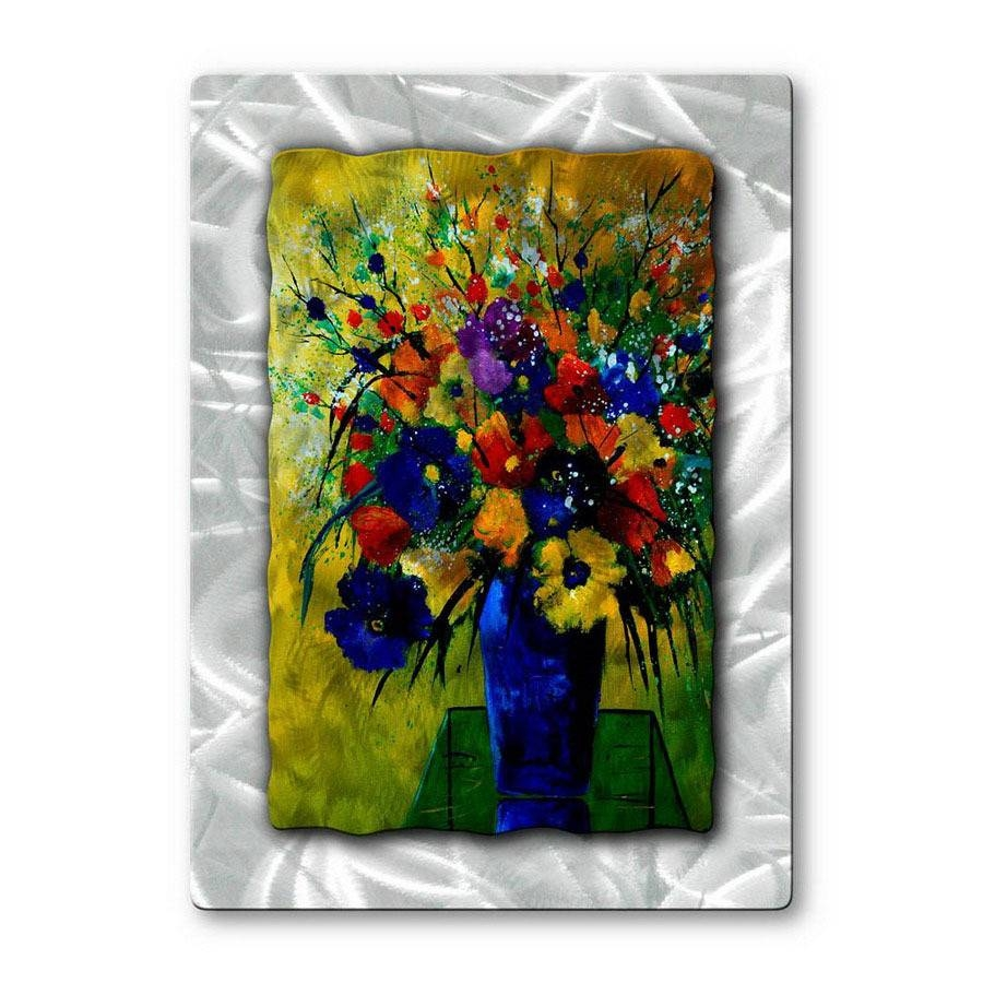 Shop All My Walls 23 In W X 32 In H Botanical Metal Wall Art At With Best And Newest Botanical Metal Wall Art (View 7 of 25)