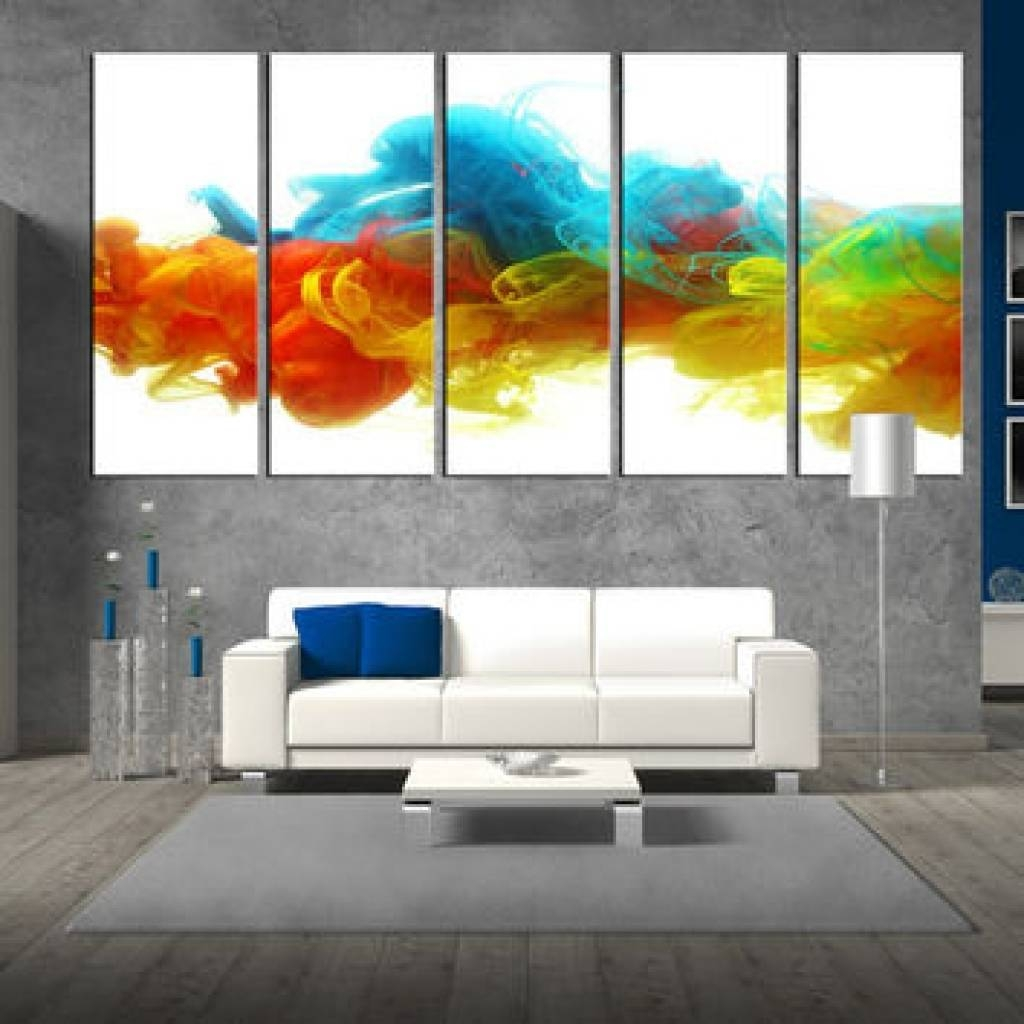 Shop Colorful Abstract Wall Art On Wanelo Colorful Abstract Wall For Most Current Colorful Abstract Wall Art (View 15 of 20)
