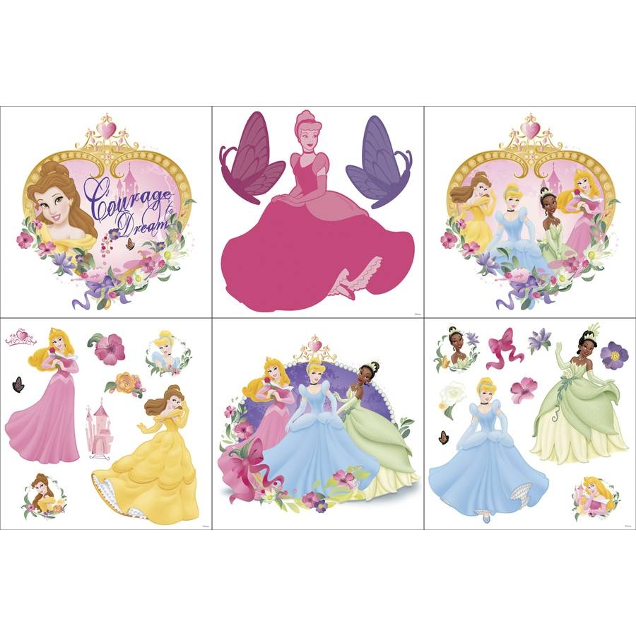 Shop Disney Princess Wall Art At Lowes Intended For Most Up To Date Disney Princess Wall Art (View 16 of 20)