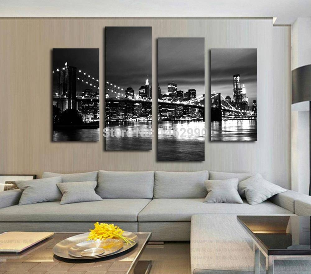 Shop Paintings Online, Hot Sell Modern Wall Painting New York In Most Recently Released Bedroom Framed Wall Art (View 9 of 20)