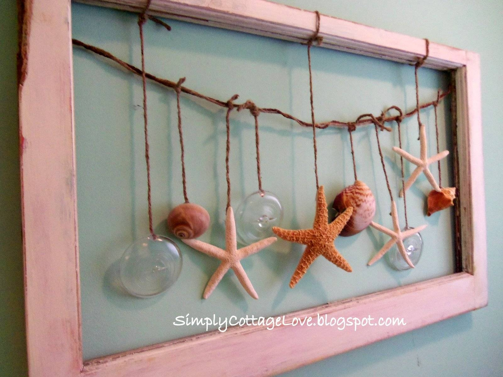 Simply Cottage Love: Beachy Wall Art In Newest Beach Theme Wall Art (View 2 of 20)