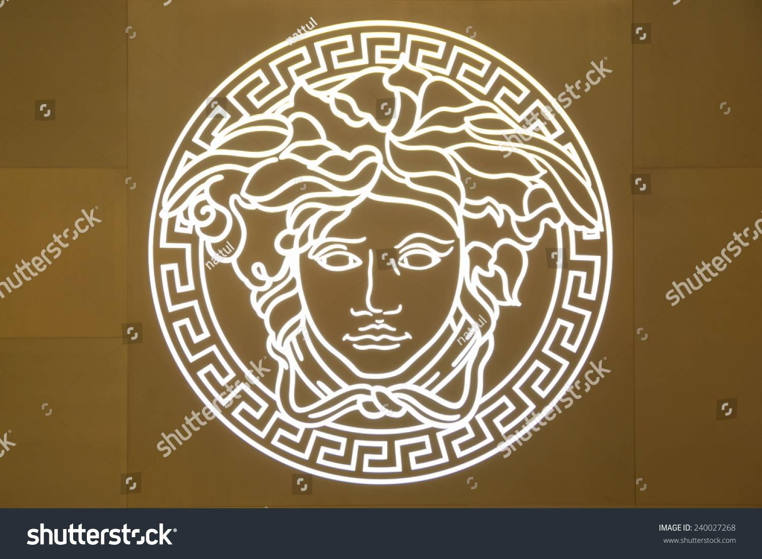 Singapore Bayfront Avenue December 19 2014 Stock Photo 240027268 Inside Most Recent Versace Wall Art (View 5 of 20)