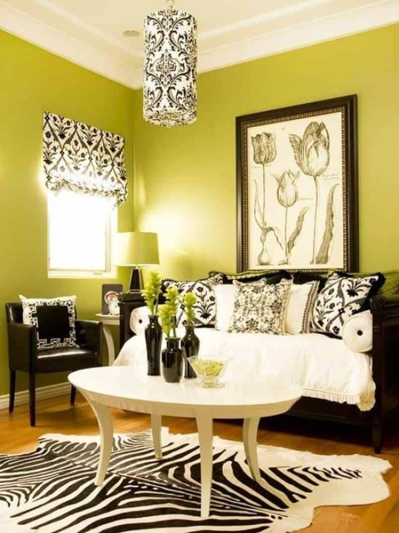 Modern Black And White Damask Wall Art Image - The Wall Art ...