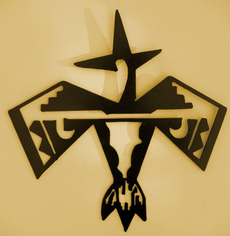 Southwest Aztec Bird Metal Art Wall Decor Spirit Inside Best And Newest Mexican Metal Wall Art (View 16 of 30)
