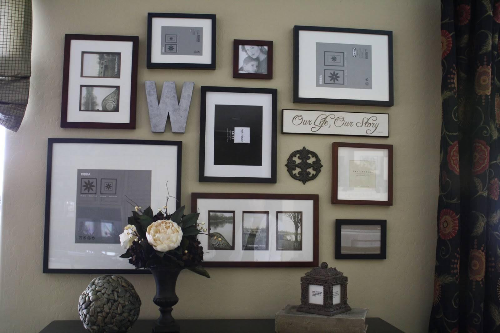 Splendid Diy Framed Wall Calendar Wall Decor Fretwork Square Inside 2018 Black And White Framed Wall Art (View 8 of 20)