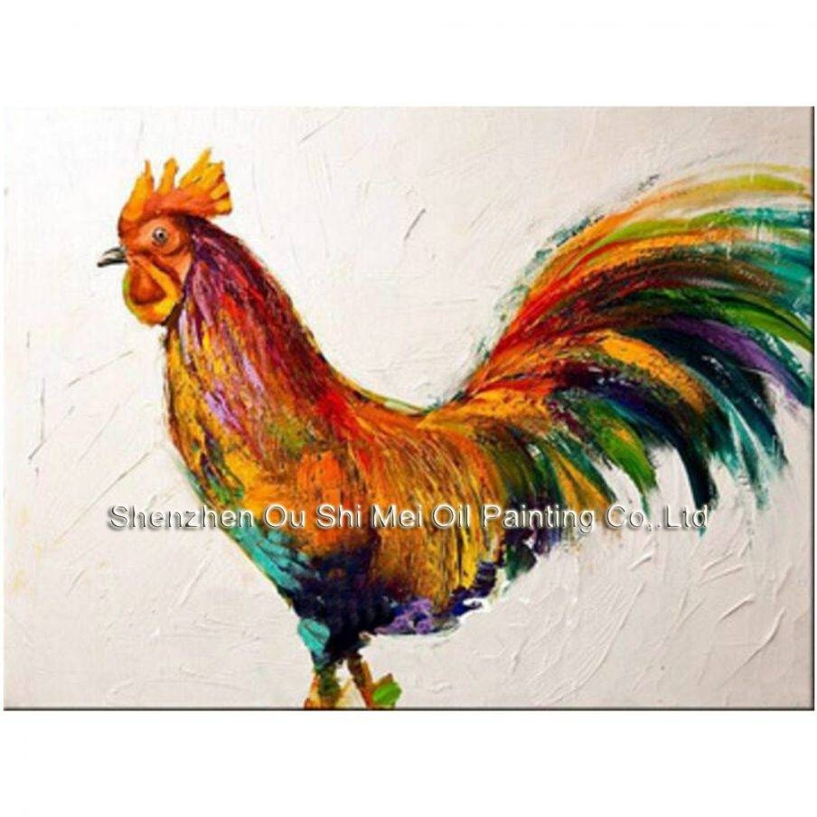 Splendid Rooster Kitchen Metal Wall Art Rooster Wall Art Design With Current Metal Rooster Wall Decor (View 13 of 25)