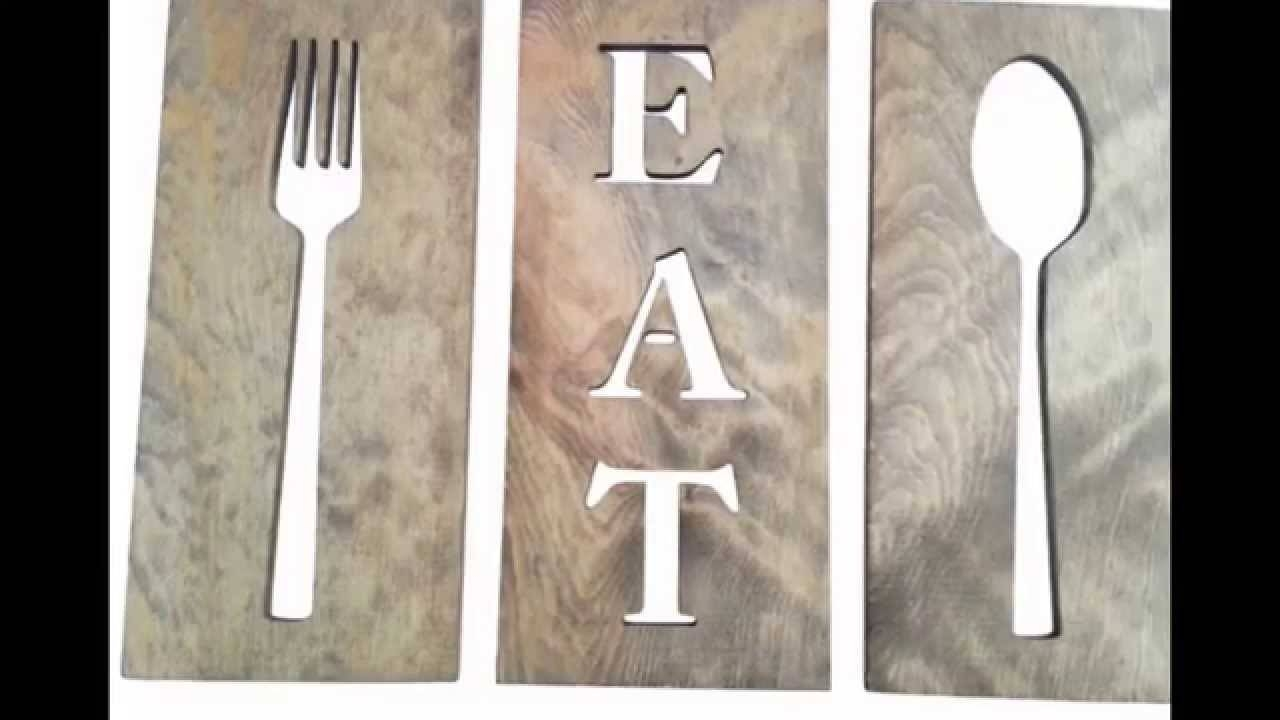 Spoon And Fork Wall Decor # Diy Fork And Spoon Wall Decor – Youtube Inside Most Recently Released Big Spoon And Fork Wall Decor (View 17 of 30)
