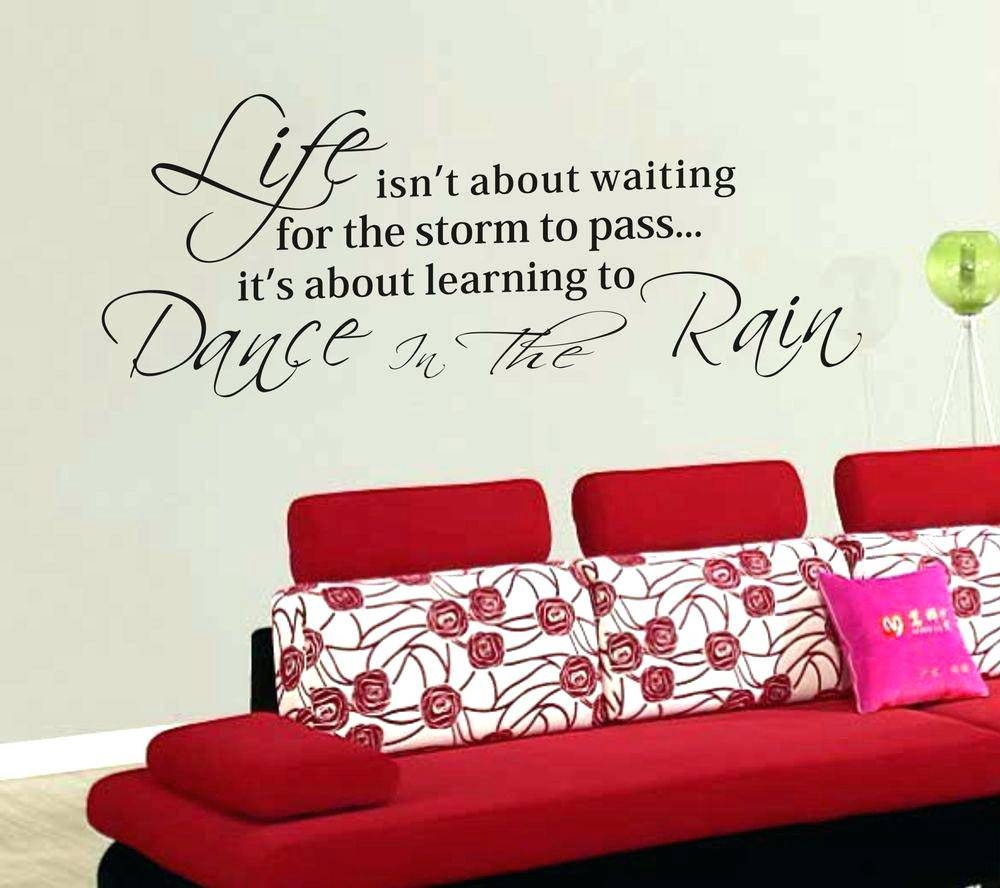Sports Quotes Wall Decals Gym Wall Decal Gym Motivation Quote Iron With Recent Large Inspirational Wall Art (View 9 of 20)