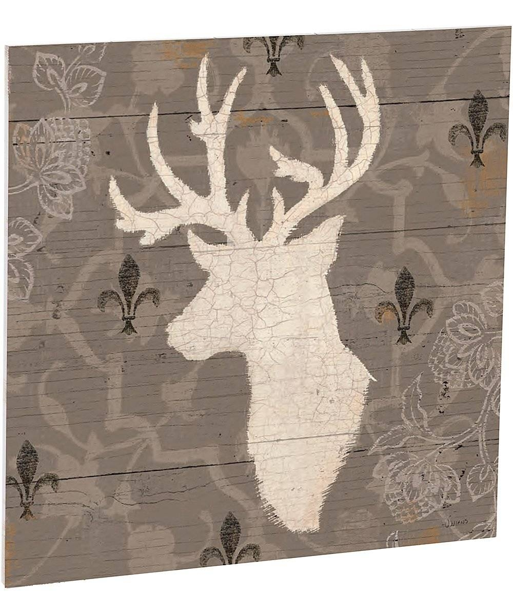 Stag Plank Indoor/outdoor Wall Art Set | Zulily Inside Most Recently Released Stag Wall Art (View 11 of 20)