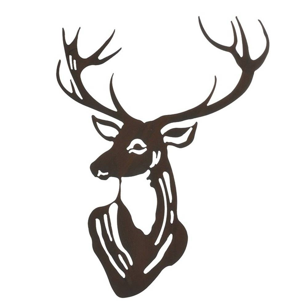 Stag's Head Wall Art – One Living In Recent Stags Head Wall Art (View 19 of 25)