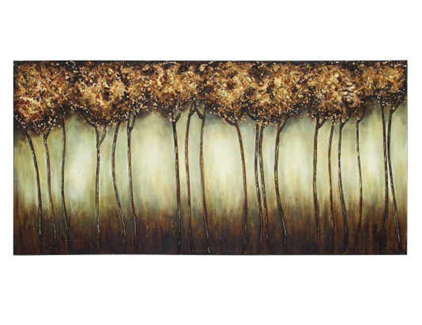 Steinhafels – Gold Trees Canvas Art Pertaining To Latest Country Canvas Wall Art (View 14 of 20)