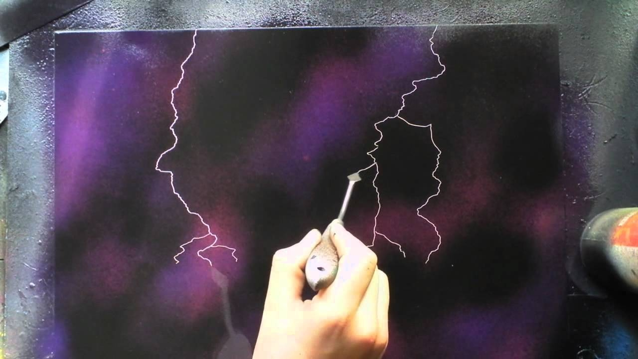 Stencil Spray Paint Art, Custom Painting – Youtube Inside Current Space Stencils For Walls (View 18 of 20)