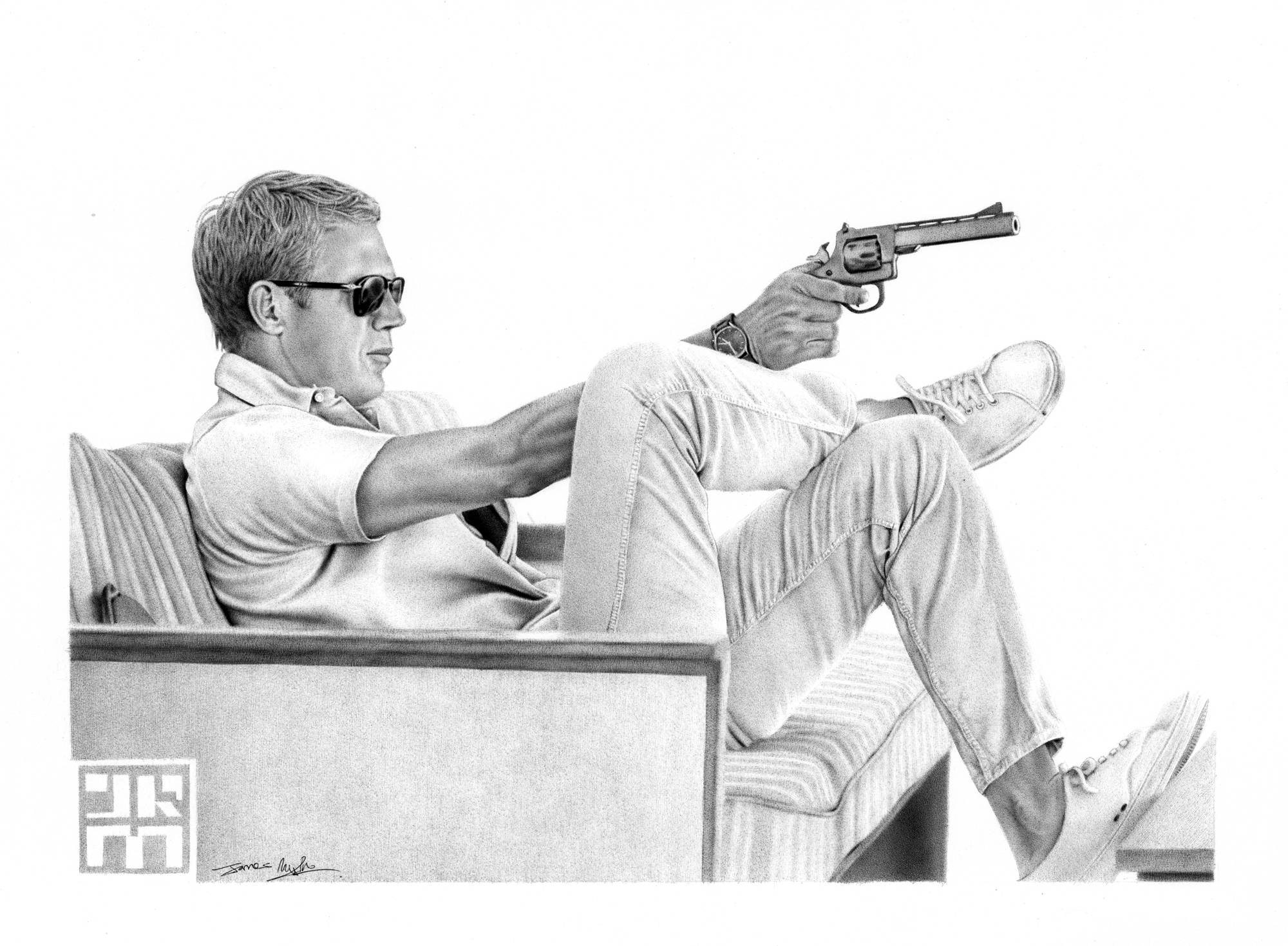 Steve Mcqueen | 411Posters Within Current Steve Mcqueen Wall Art (View 17 of 20)