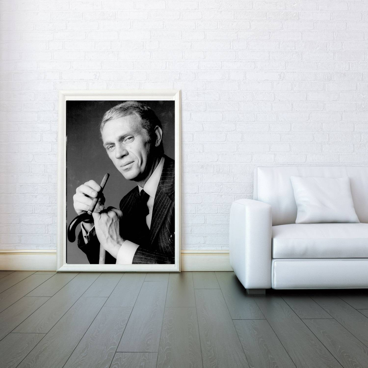 Steve Mcqueen Decorative Arts Prints & Posters Wall Art Print Inside 2017 Steve Mcqueen Wall Art (View 10 of 20)