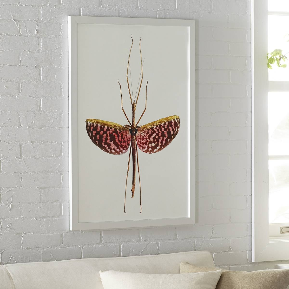 Stick Insect Wall Art – Speckled | Wisteria In Most Up To Date Insect Wall Art (Gallery 1 of 30)