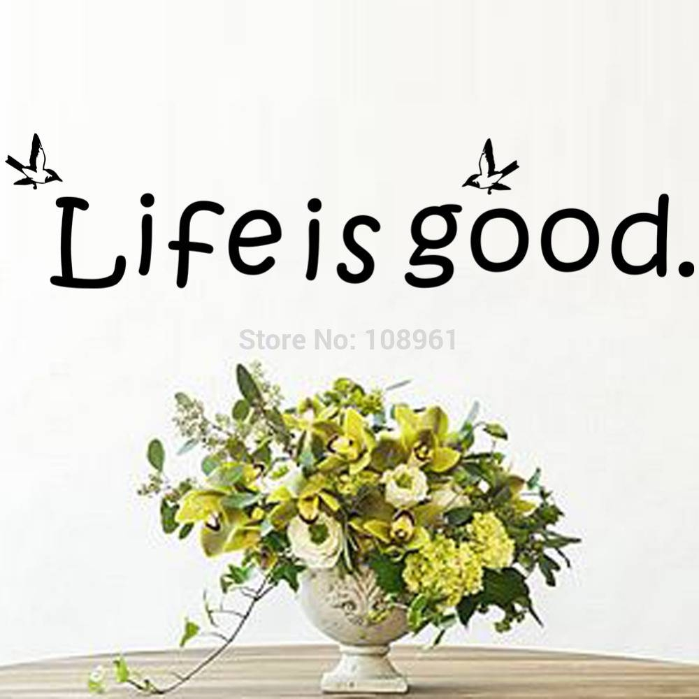 Sticker Cutter Picture – More Detailed Picture About Life Is Good Inside Best And Newest Life Is Good Wall Art (View 27 of 30)