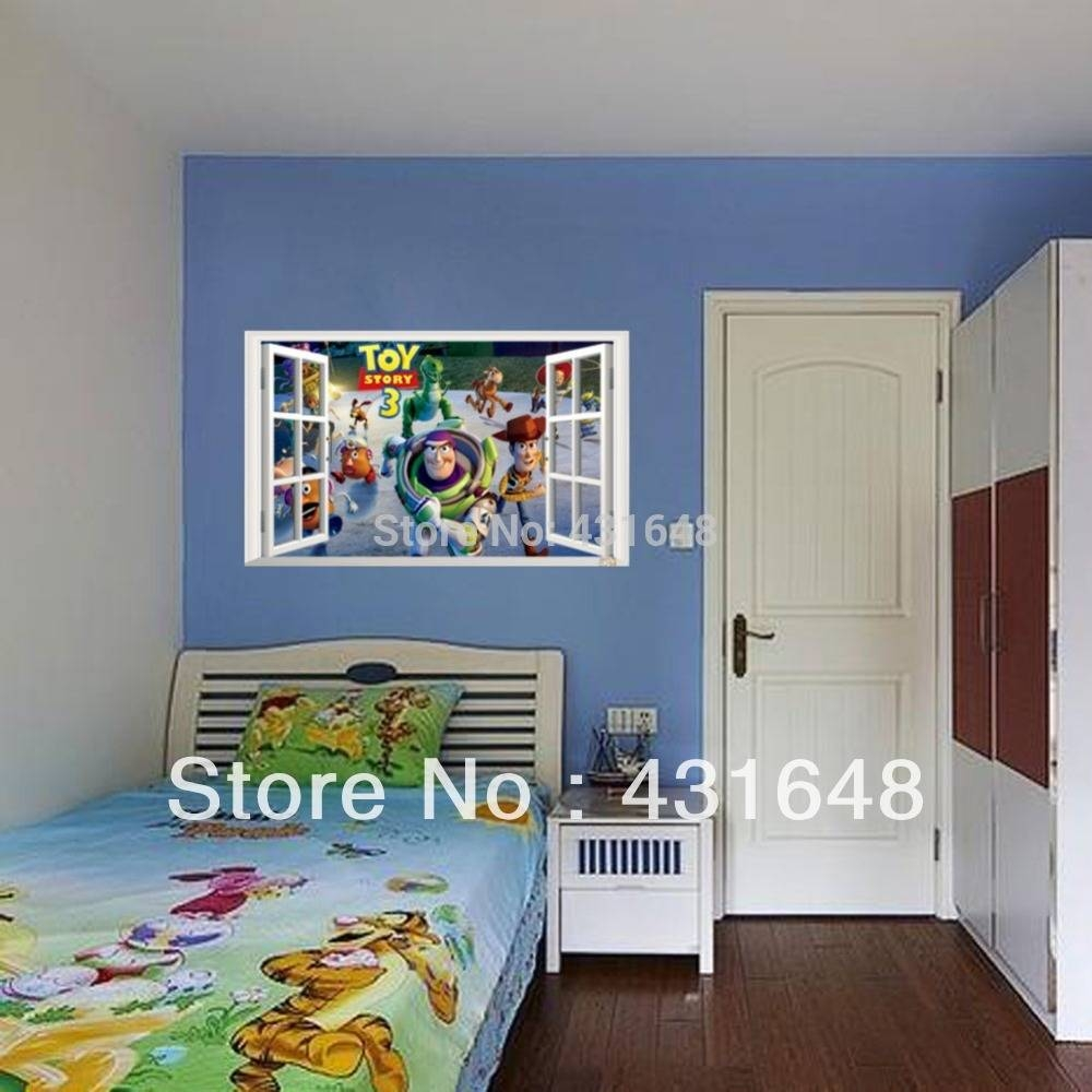 Sticker Yellow Picture – More Detailed Picture About New 2015 Home Inside Most Popular Toy Story Wall Art (View 22 of 30)