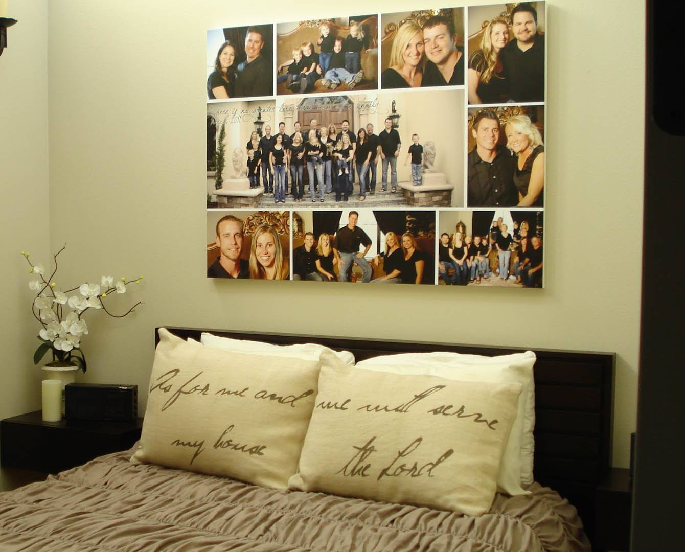 Storyboard Family Photo Custom Collage With Quotes Words Throughout 2018 Custom Canvas Art With Words (View 17 of 20)