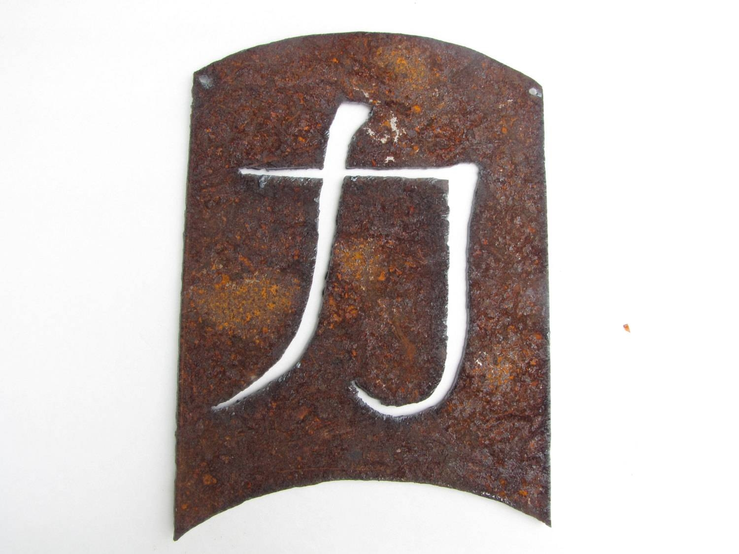 Strength Energy Kanji, Asian Symbol Garden Art Home Decor Recycled With Regard To 2017 Asian Metal Wall Art (View 5 of 30)
