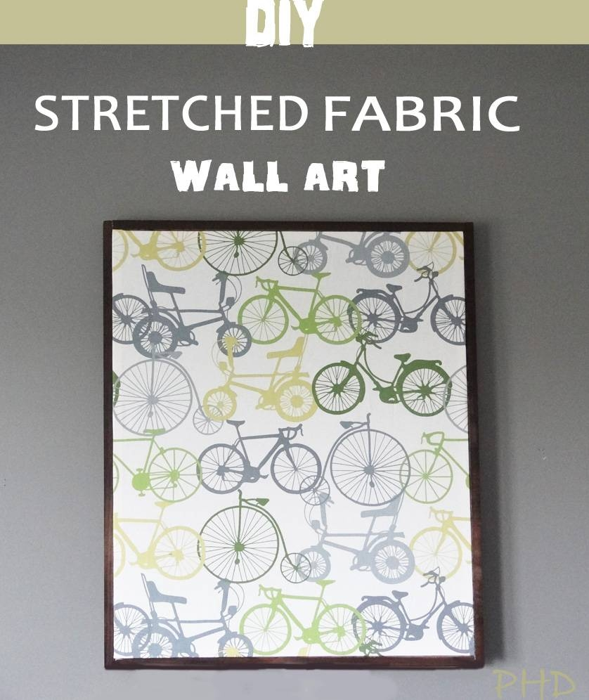 Best 20 of stretched fabric wall art for Fabric wall art
