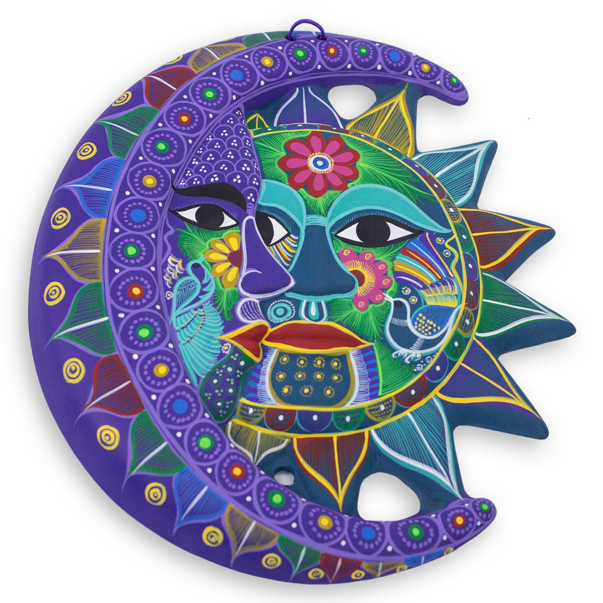 Stunning Decoration Sun And Moon Wall Art First Class Crescent With Regard To Most Popular Mexican Metal Wall Art (Gallery 5 of 30)