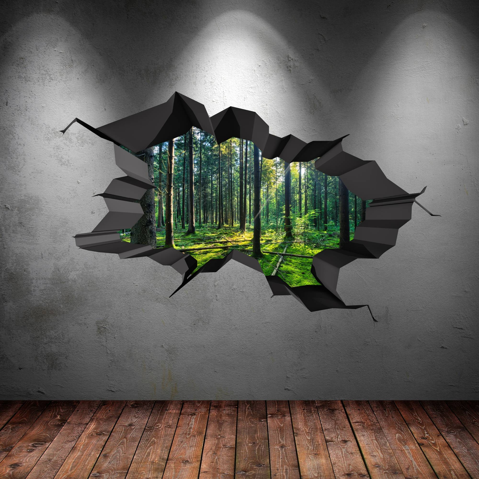 Stunning Wall Art 3D Images – Transformatorio – Transformatorio Pertaining To 2018 3D Wall Art Illusions (View 18 of 20)