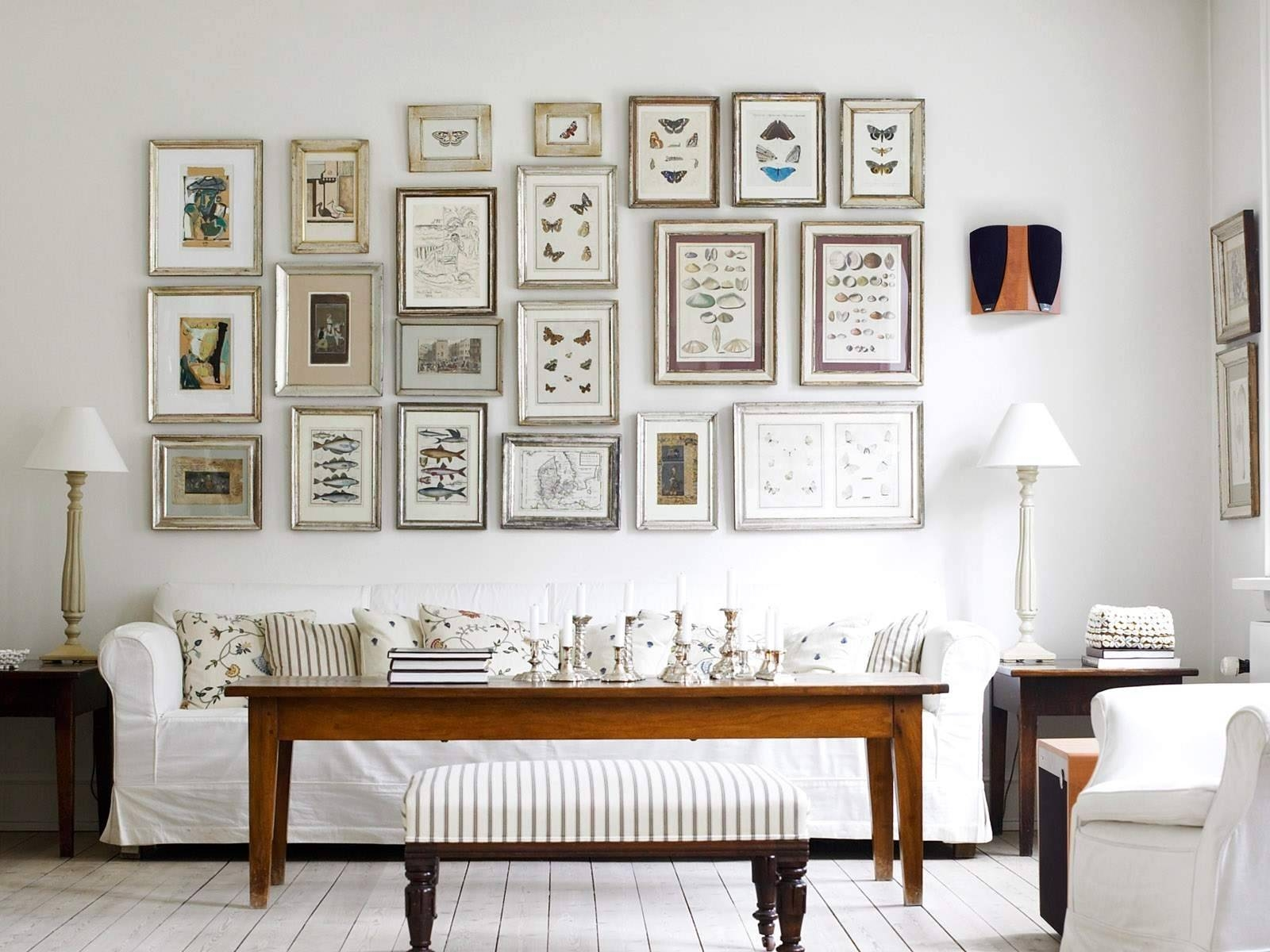 Stunning White Tone Of Wall Art For Living Room Furniture Design Pertaining To Most Up To Date Insect Wall Art (View 2 of 30)