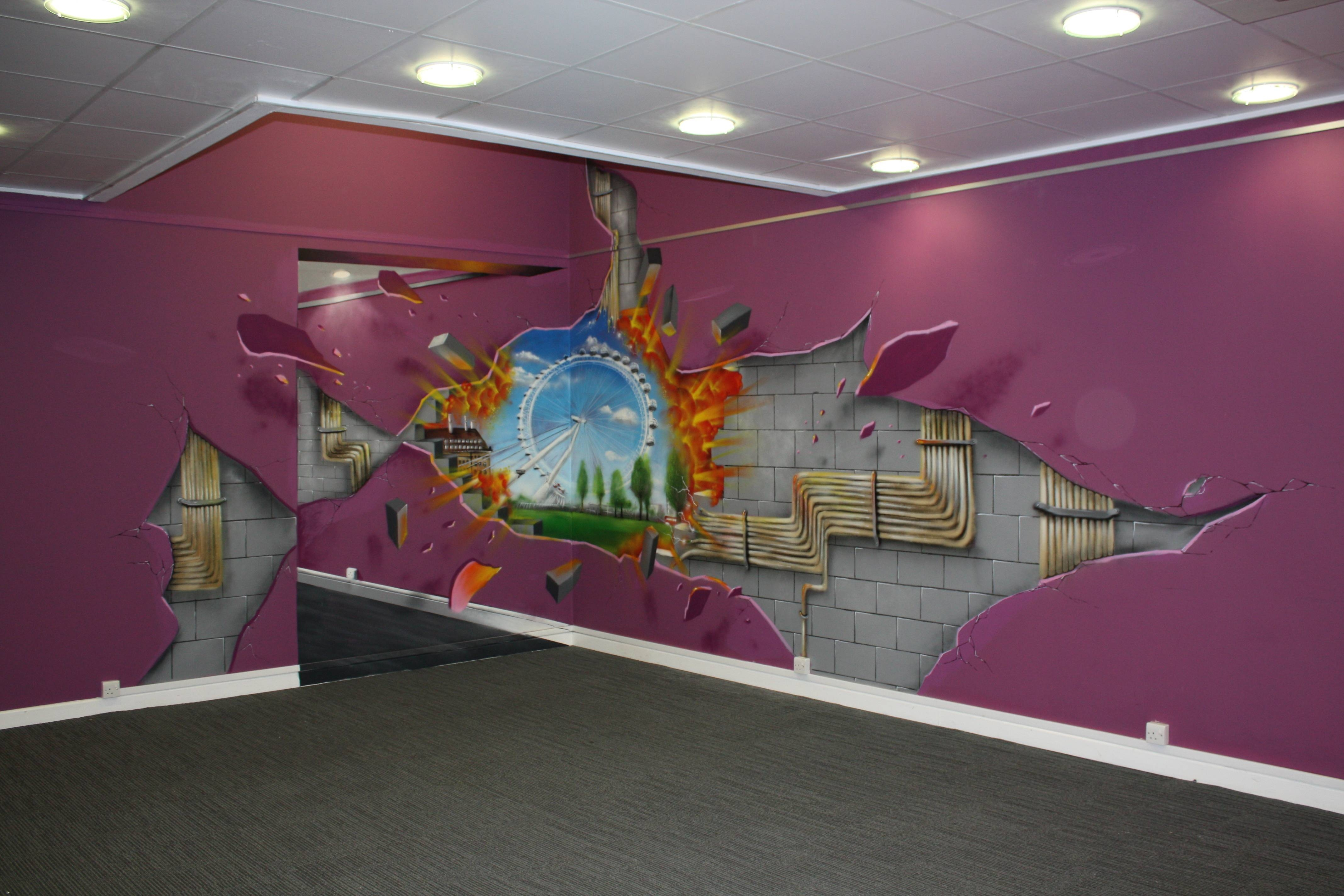 Stunts Illusion Art Can Also Created Walls – Dma Homes | #4737 Inside Most Recently Released 3D Wall Art Illusions (View 19 of 20)