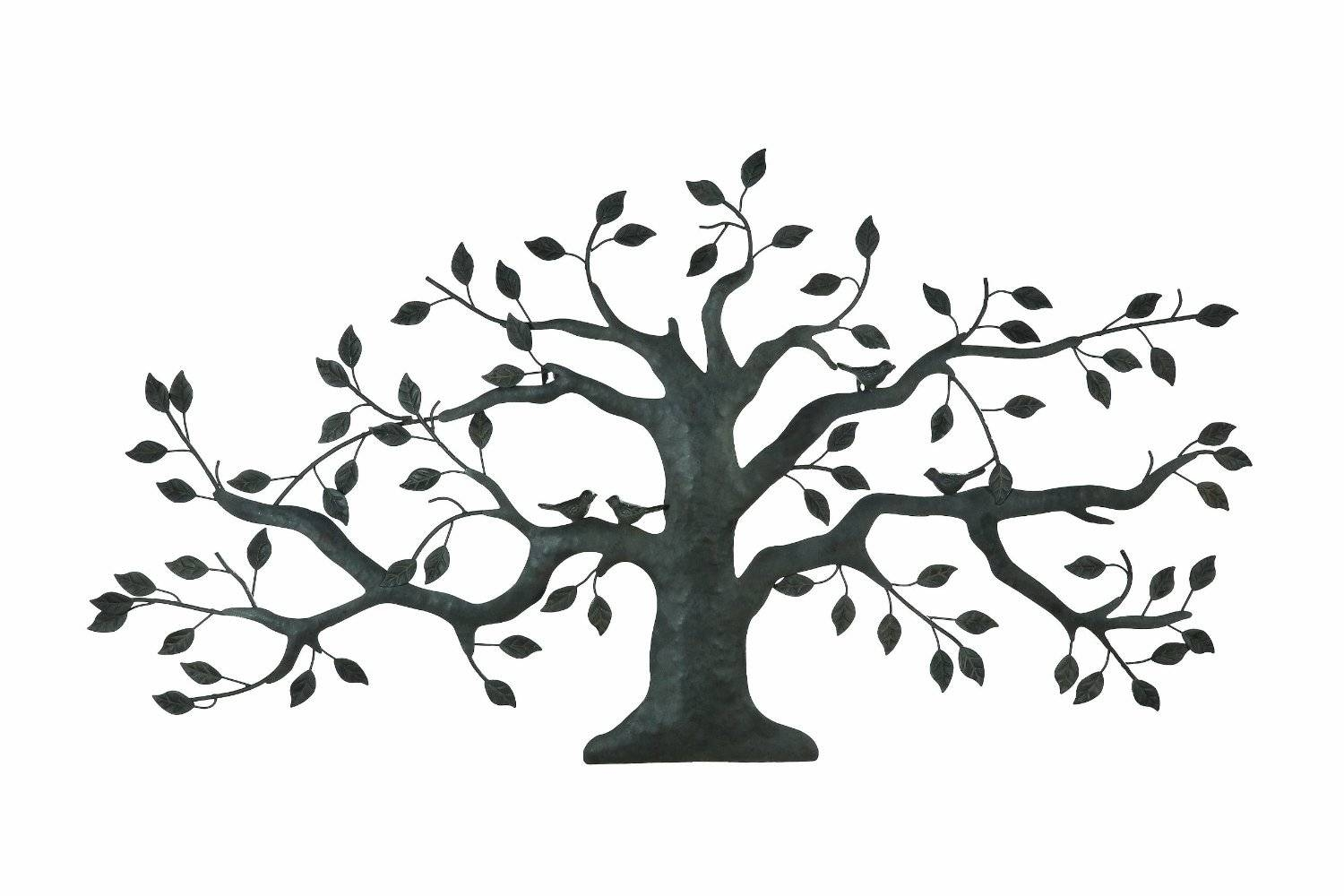 Stupendous Tree Of Life Metal Wall Art Decor Sculpture 31 X 29 For Most Recent Metal Tree Wall Art Sculpture (View 12 of 20)