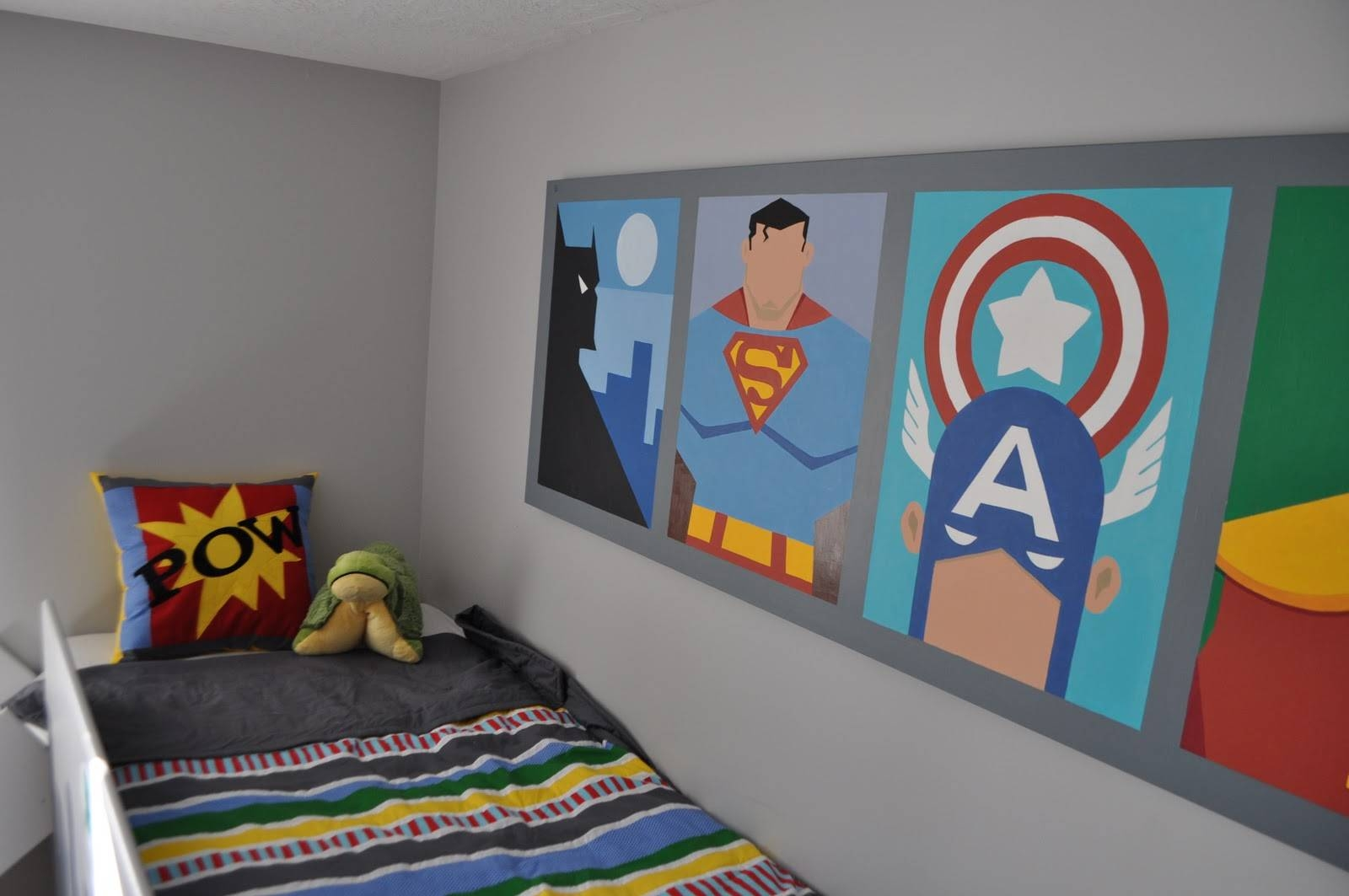 Super Hero Rooms Can Make Dreams Come True – Terrys Fabrics's Blog In Most Current Superhero Wall Art For Kids (View 13 of 25)