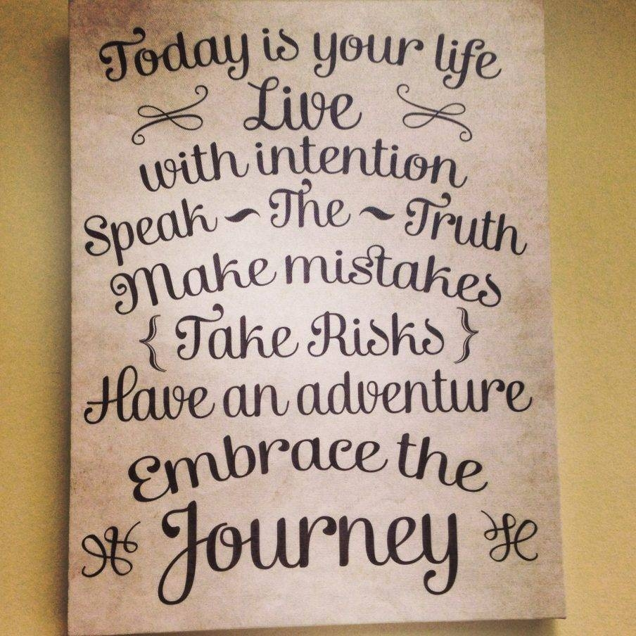 Superb Diy Canvas Wall Art Quotes Canvas Banner Family Rules In 2017 Diy Canvas Wall Art Quotes (View 11 of 20)
