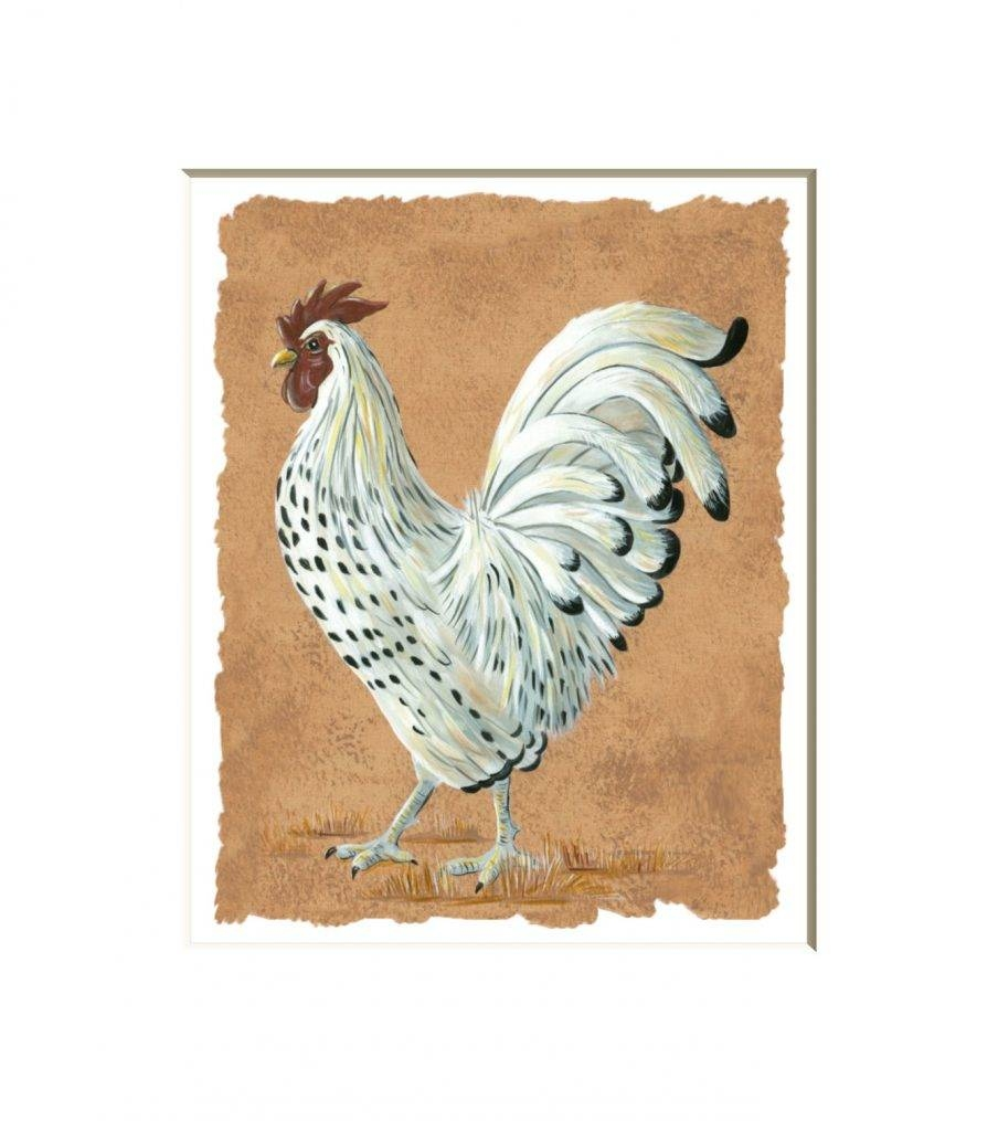 Superb French Country Rooster Wall Art Trio Zoom Rooster Wall Within 2017 Metal Rooster Wall Decor (View 15 of 25)