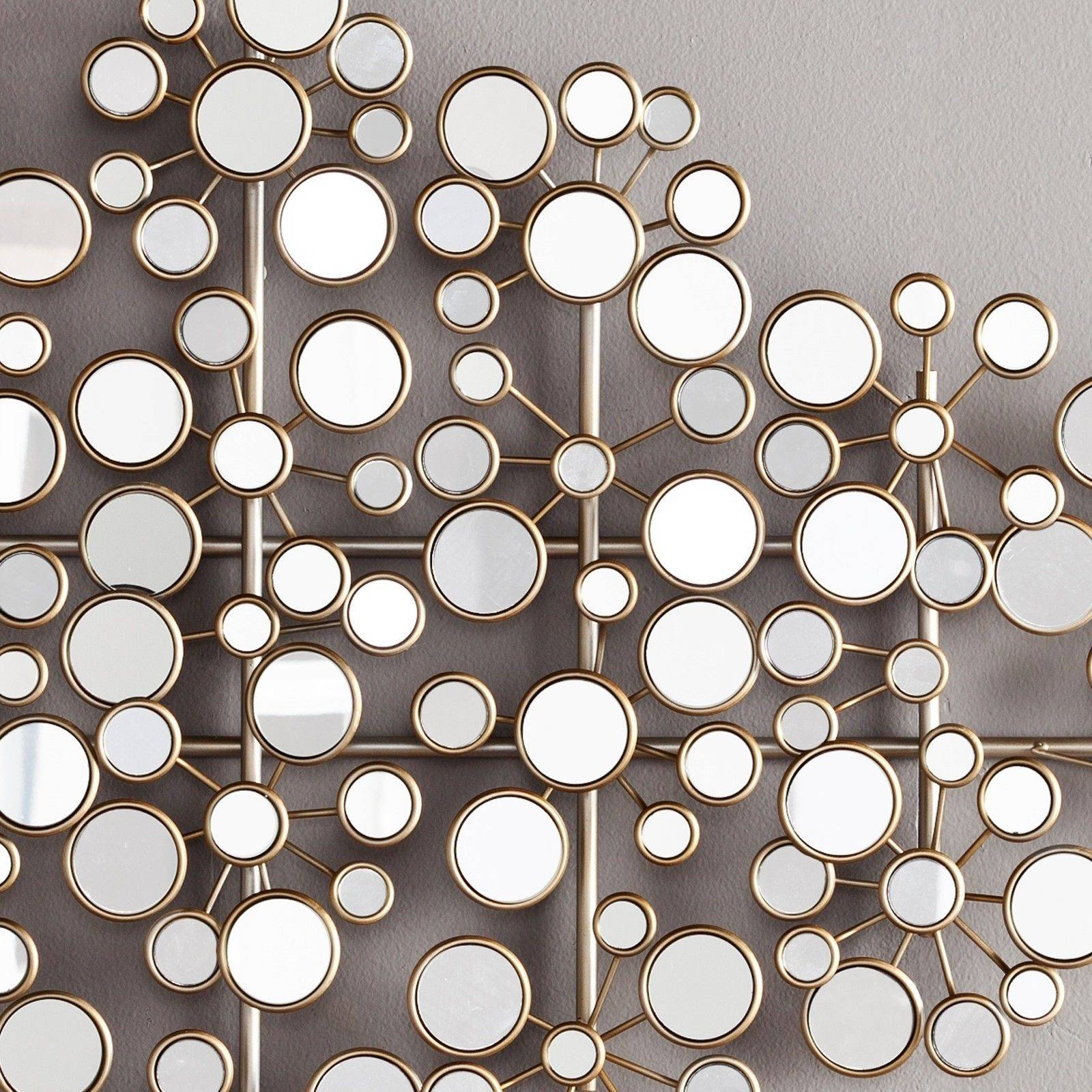 Superb Wall Decor Metal Wall Art Rope Steel Circles Metal Wall Art In Current Mirror Circles Wall Art (View 12 of 20)