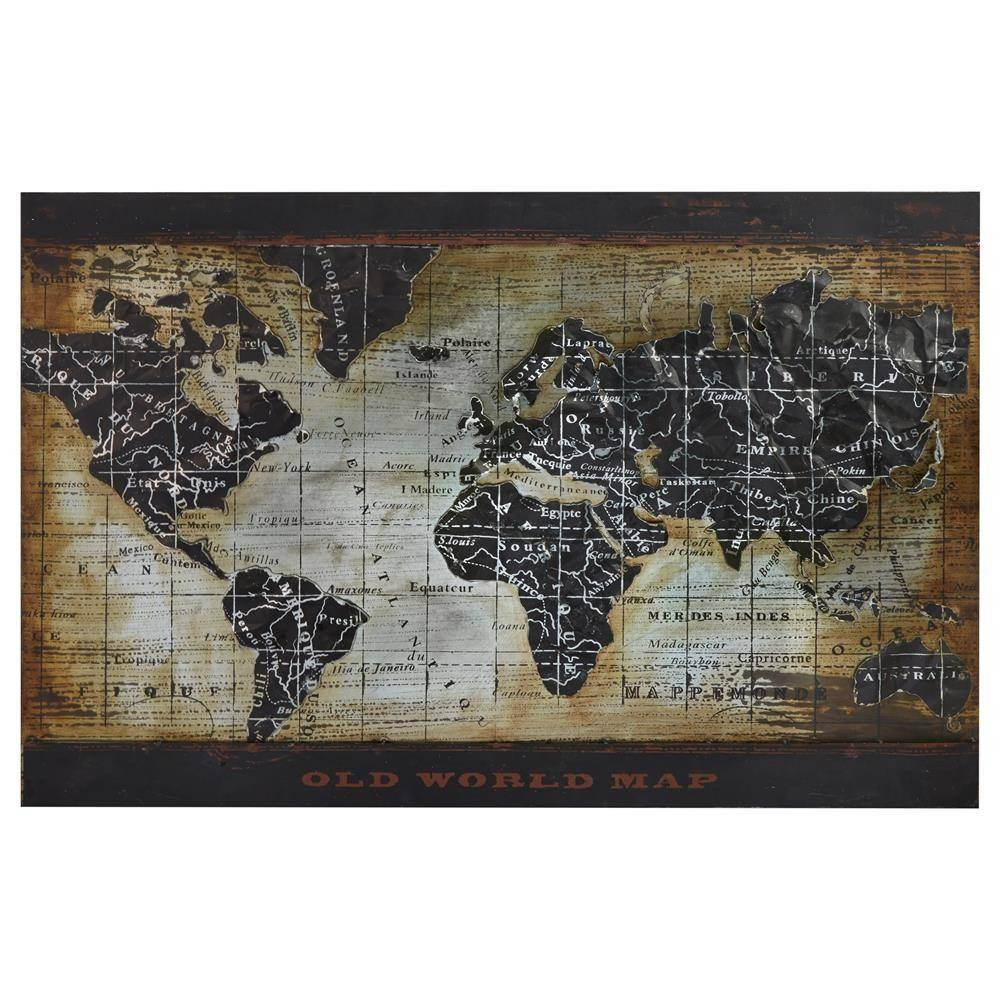2018 latest framed world map wall art. Black Bedroom Furniture Sets. Home Design Ideas