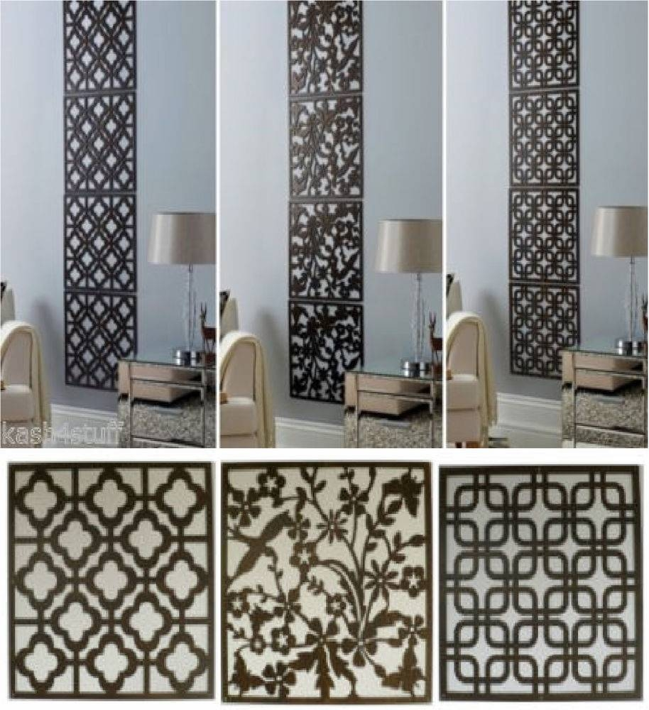 Sweet Pc Wood Effect Hanging Wall Art Cut Out Screen Then Panels Regarding Best And Newest Wood Panel Wall Art (View 12 of 20)