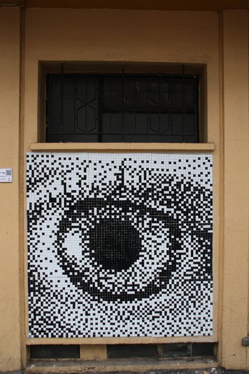 Taking It To The Streets: Pixel In Santiago | Mosaic Art Now Within Most Current Pixel Mosaic Wall Art (View 16 of 20)
