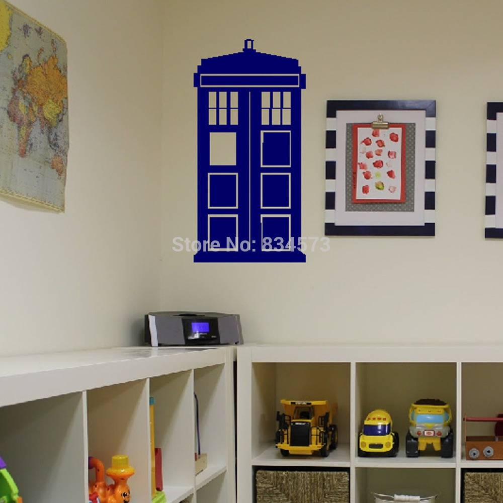 Tardis Wall Decal | Roselawnlutheran Pertaining To Recent Doctor Who Wall Art (View 33 of 33)