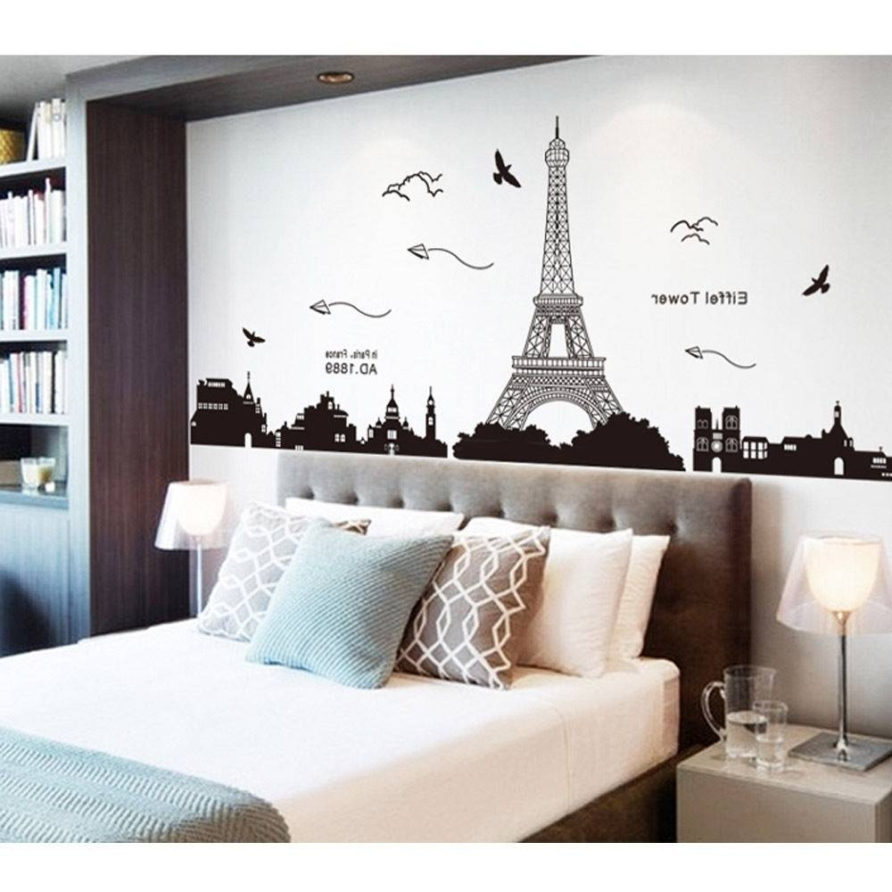 Teens Room : Paris Wall Decal Ebay With Teens Room Paris For Found Inside Best And Newest Paris Themed Stickers (View 2 of 15)