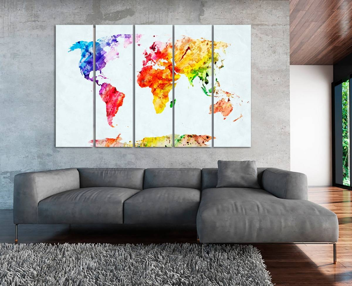 Texelprintart Studio – Canvas Wall Art Print For Home Decoration Regarding 2018 Extra Large Wall Art Prints (View 9 of 20)