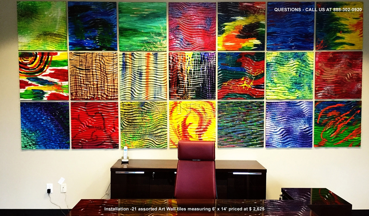 Textures 3D® – Art Wall Panels | 3D Wall & 3D Panel Pertaining To Current Painting 3D Wall Panels (Gallery 13 of 20)