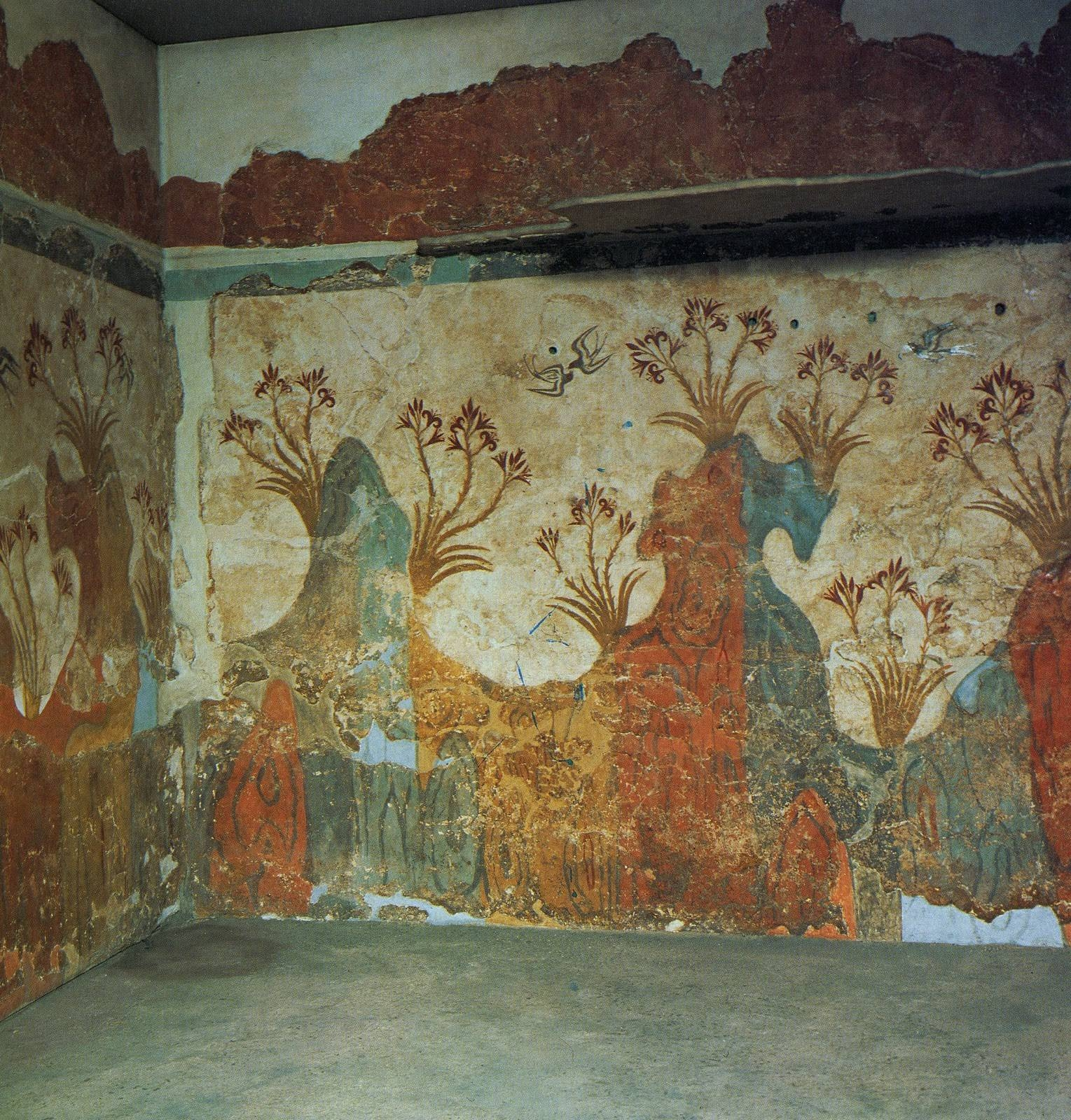 That Artist Woman: How To Make Plaster Frescoes With Most Current Ancient Greek Wall Art (View 14 of 25)