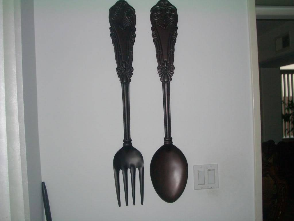 The Big Fork And Spoon — Decor Trends : Easy Big Fork And Spoon Inside Most Current Big Spoon And Fork Wall Decor (View 20 of 30)